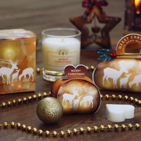 Christmas Gift Soap and Candle Set Reindeer
