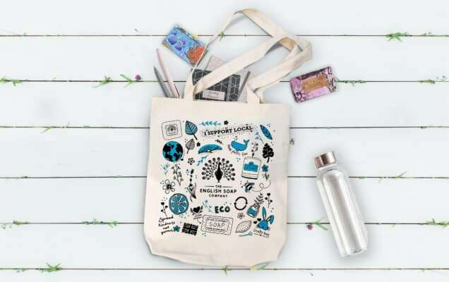 The English Soap Company Tote Bag