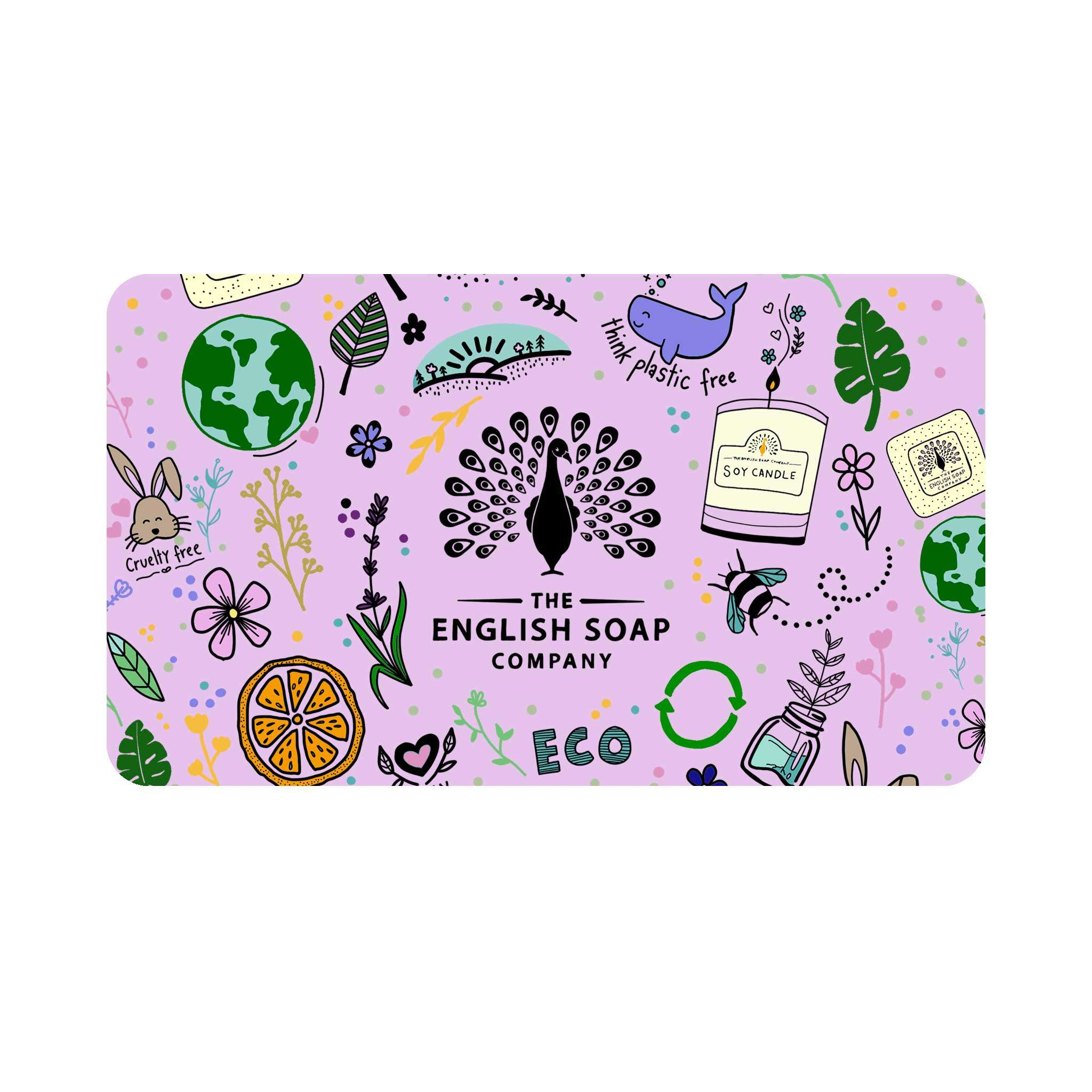 The English Soap Company Lilac Gift Card