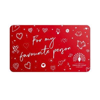 Valentine's Day Gift Card 2