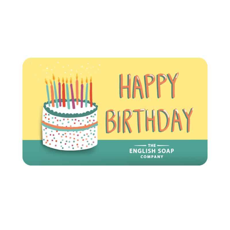 Happy Birthday Gift Card 2
