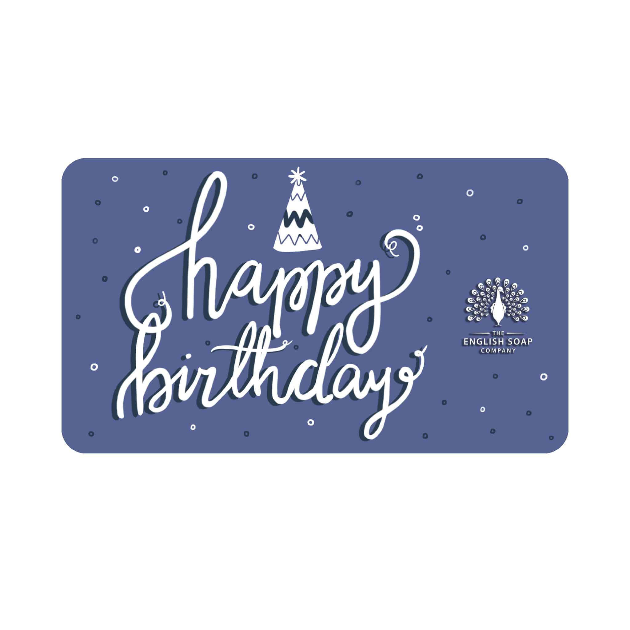 Happy Birthday Gift Card 1