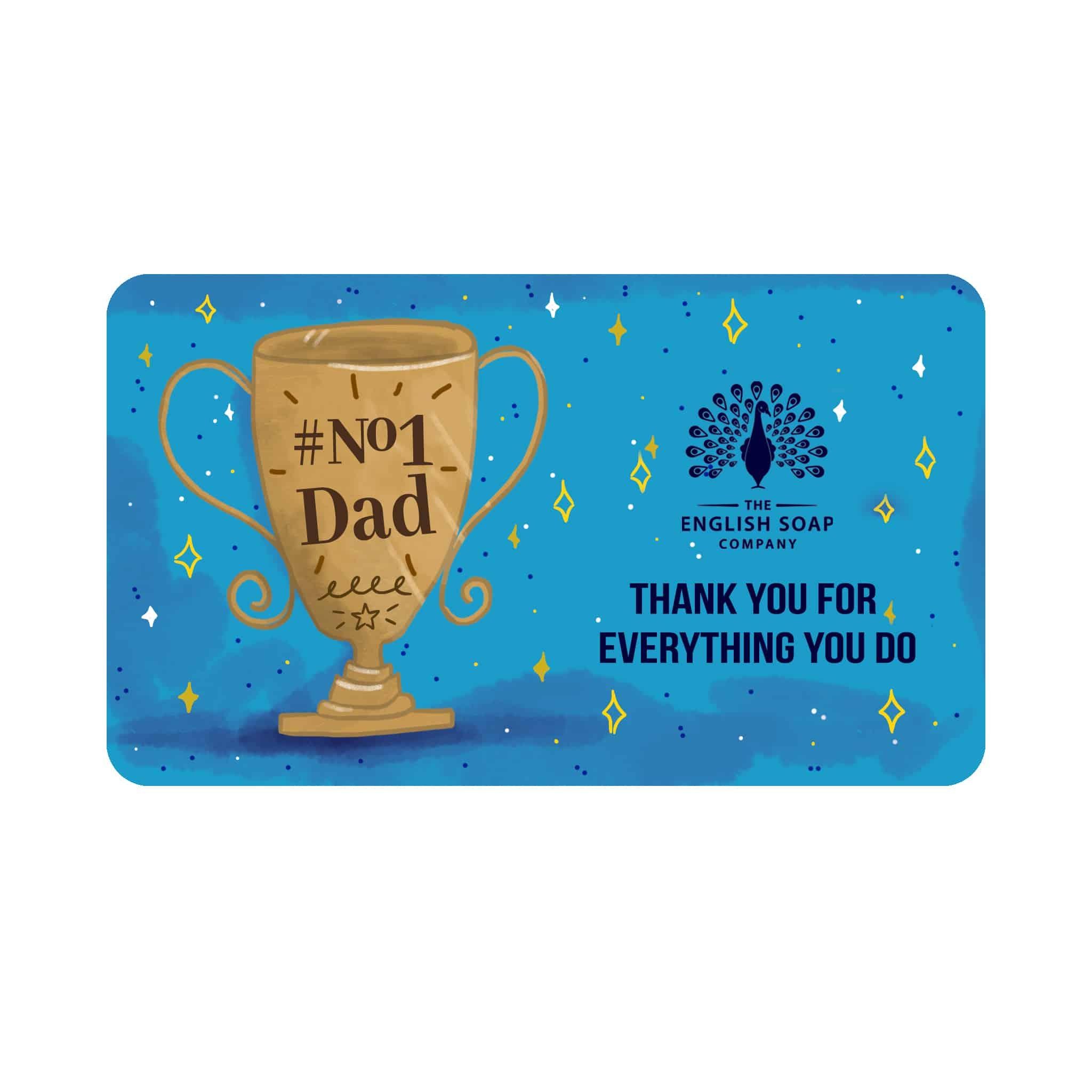 No 1 Dad Online Gift Card