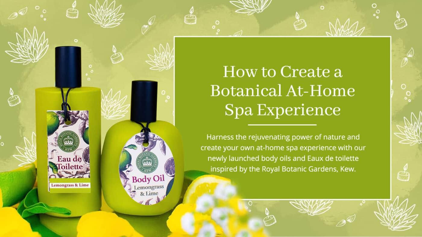 Kew Body Oils and EDT Blog Post Banner