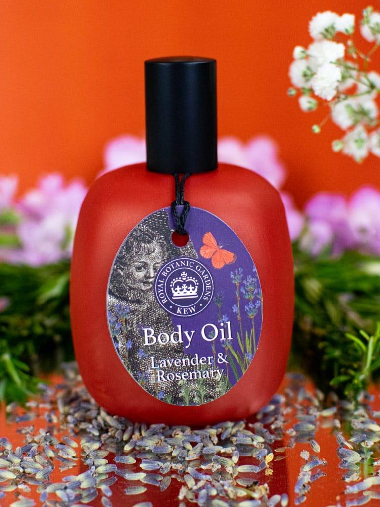 Kew Gardens Lavender and Rosemary Body Oil