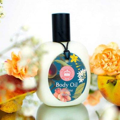Kew Gardens Jasmine Peach Body Oil
