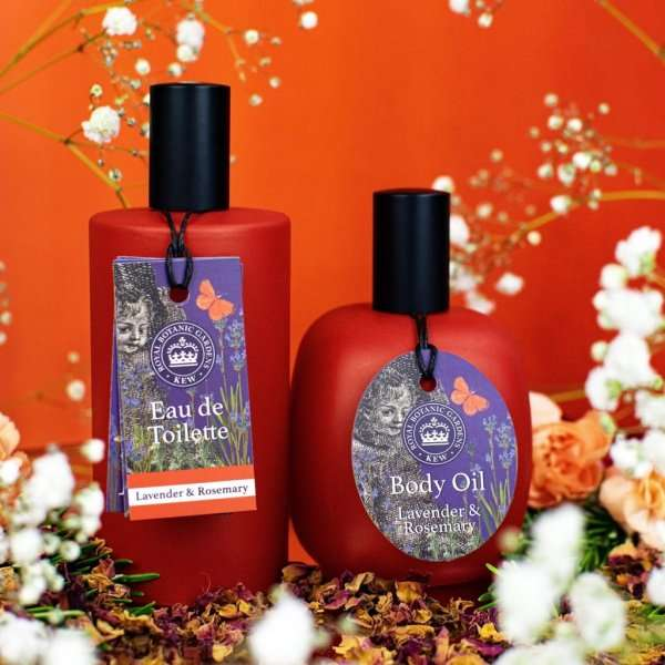Kew Gardens Lavender and Rosemary Body Oil and Eau de toilette