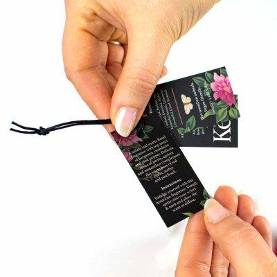 Kew Gardens Osmanthus Rose Eau de Toilette Label