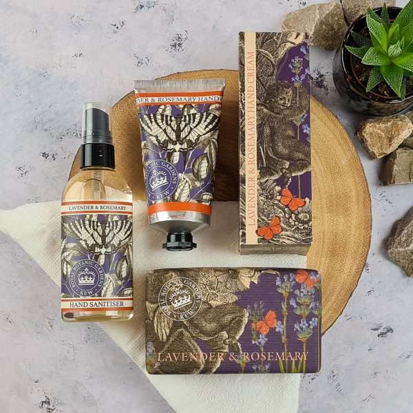 Kew Gardens Lavender and Rosemary Hand Care Set