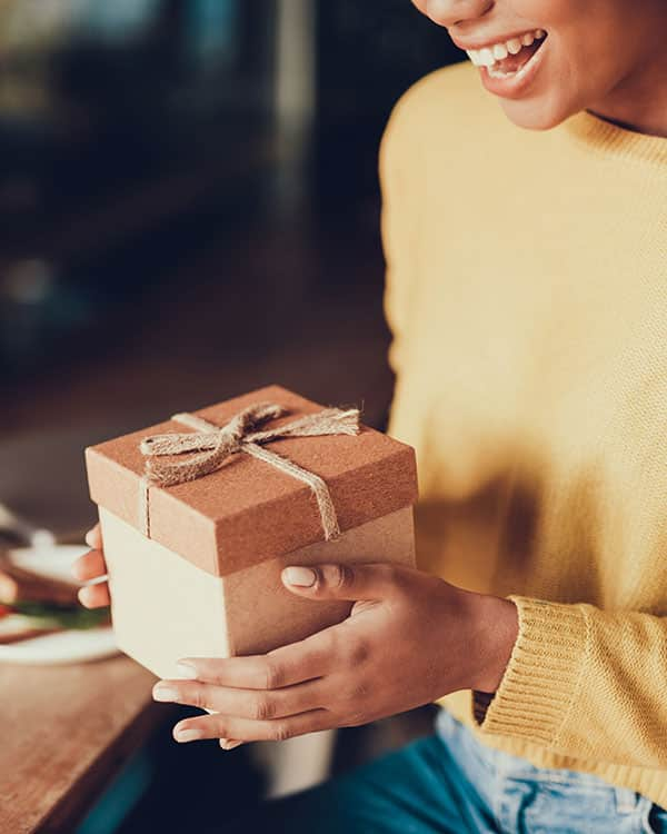 Opening Soap Gift