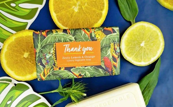 Thank You Tropical Soap Bar