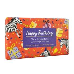 Pink Grapefruit Happy Birthday Soap