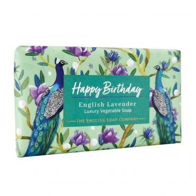 English Lavender Happy Birthday Soap