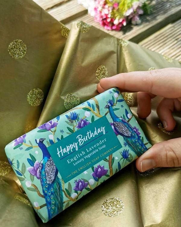 Happy Birthday Soap Gift