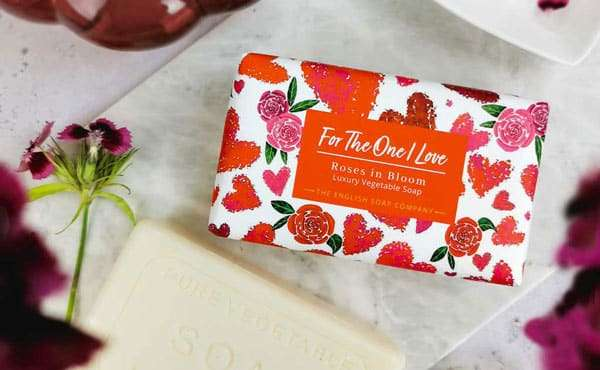 For the One I Love Roses Soap