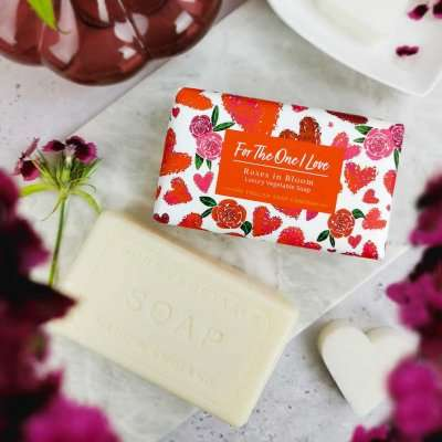 Roses in Bloom for the One I Love Soap`