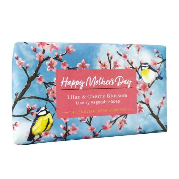 Lilac and Cherry Blossom Happy Mother's Day Soap