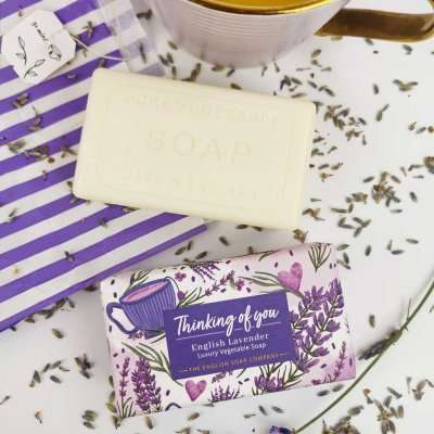 OX0009 Thinking of you Lavender 4 with soap bar