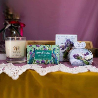 Happy Birthday Lavender Gift Set