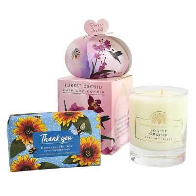 Thank You Floral Gift Set