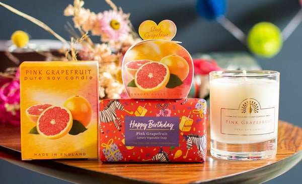 Happy Birthday Pink Grapefruit set