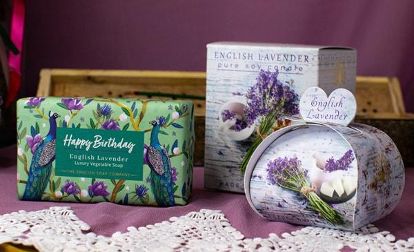 Happy Birthday Lavender Set