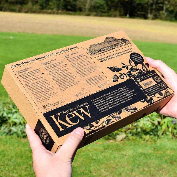 Kew Gardens Hand Care Gift Set Illustrated Box