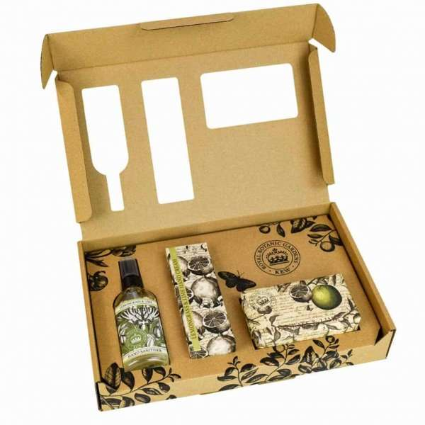 Kew Gardens Lemongrass and Lime Hand Care Gift Box