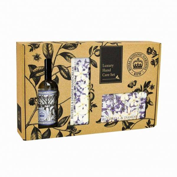 Kew Gardens Bluebell and Jasmine Hand Care Gift Box