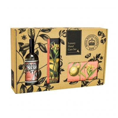 Kew Gardens Bergamot and Ginger Hand Care Gift Box