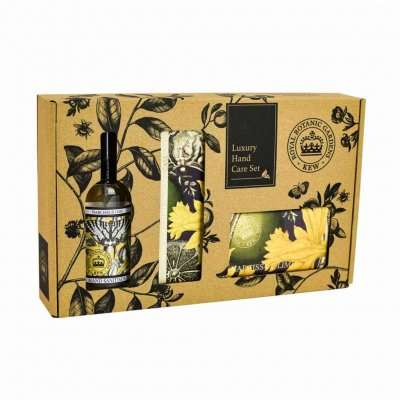 Kew Gardens Narcissus Lime Hand Care Gift Box