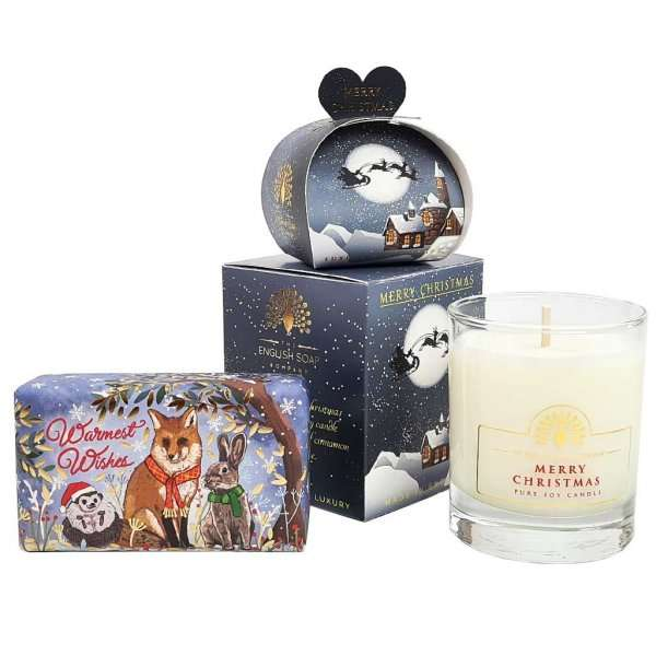 Christmas Animals Soap Gift Set