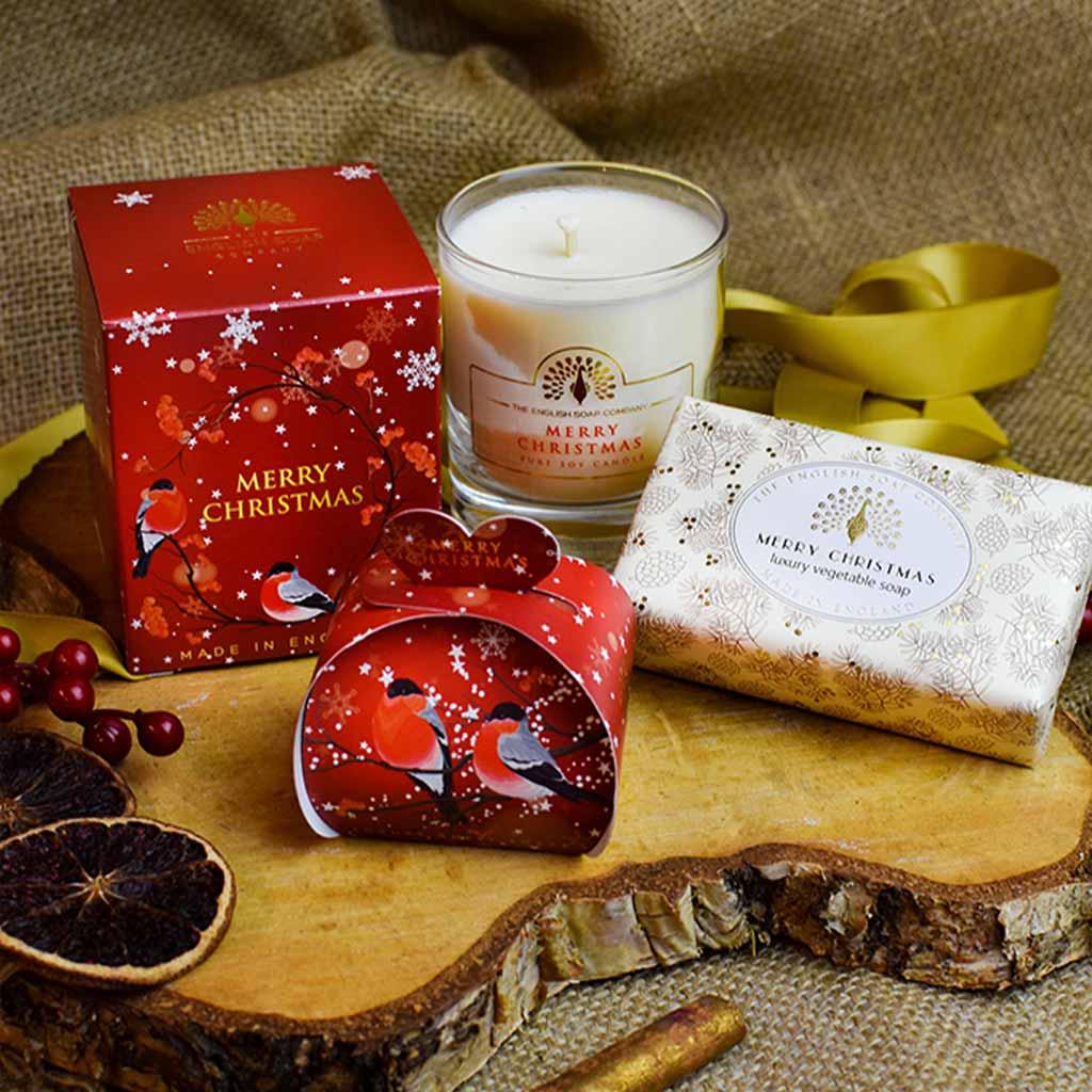 Merry Christmas Soap Gift Set